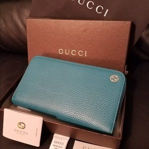 Gucci wallet Woman Blue